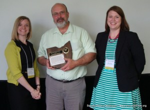 Merit Award presented to the Sandusky Library