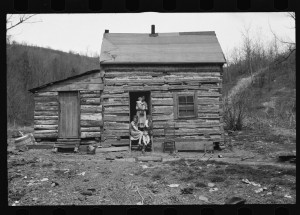 Untitled photo, possibly related to: Mother of family of five to be resettled on Ross-Hocking Land Project near Chillicothe, Ohio.2