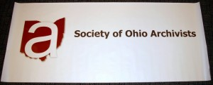 SOA banner for outreach activities