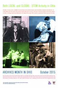 2015 Archives Month Poster
