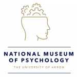 National Museum of Psychology, The University of Akron logo