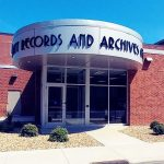 Licking County Records & Archives entrance
