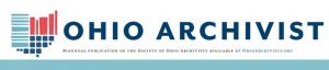 Ohio Archivist header graphic