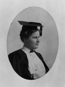 Florence E. Allen, Western Reserve University College for Women, 1904